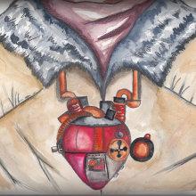 Syberia. Un proyecto de Pintura a la acuarela y Videojuegos de Isi Cano - 01.12.2017