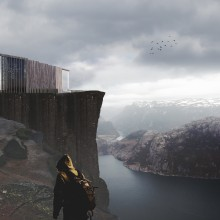Temple Of Silence. A Architecture project by Valentina Fesenko - 09.24.2020