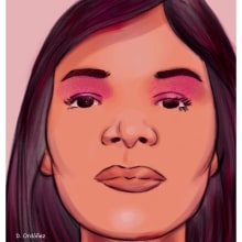 My project in Female Character Portraits in Procreate course. A Digitale Illustration project by Dietrich Adonis (Ordoñez) - 27.09.2020