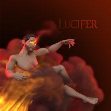 Lucifer Morningstar. A 3D, Sculpture, and 3d modeling project by Luis Girón Miranda - 08.27.2020