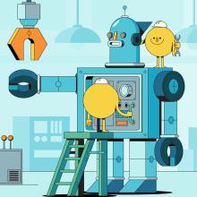 Happy Fun Corp. Un progetto di Illustrazione di Jorsh Peña - 30.09.2020