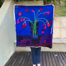 Mi Proyecto del curso: Bordado XL con aguja mágica. Un proyecto de Bordado de María Luque - 03.10.2020