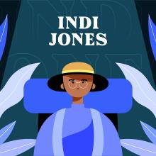 Animación cuadro a cuadro: Indi Jones. A Illustration, Design von Figuren, Animation von Figuren und 2-D-Animation project by David Pou Fernández - 05.10.2020