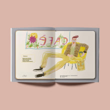 EL LIBRO AMARILLO. México. A Werbung, Zeichnung und Modedesign project by Del Hambre - 06.10.2020