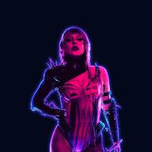 Póster Rain on Me / concurso Lady Gaga x Adobe. Un proyecto de Diseño gráfico y Diseño de carteles de Alexandra Martín García | ArtDrómeda - 21.09.2020