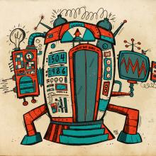 EdVill´s Time Machine . Un projet de Illustration, Animation de personnage, Dessin, Illustration numérique, Illustration jeunesse , et Dessin numérique de Ed Vill - 09.10.2020
