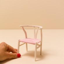 Scale furniture models. A Design, Architektur, H, werk, Möbeldesign, Innenarchitektur, Innendesign, Kreativität, Innenarchitektur, Weben, Design von Gewerbeflächen und Architektonische Illustration project by Jessica Dance - 09.10.2020