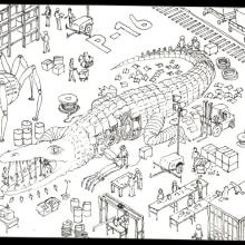 Mi Proyecto del curso: El arte del sketching: transforma tus bocetos en arte. Un projet de Esquisse , Créativité, Dessin, Aquarelle , et Carnet de croquis de Jorge Pelaez - 11.10.2020