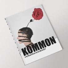 KOMMON / fashion?magazine. Um projeto de Design editorial, Moda e Design gráfico de Carmen Nogueira Lago - 01.05.2019