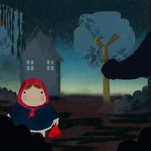 Chapeuzinho Vermelho. Un projet de Illustration numérique de Hercules Santos Trigo - 15.10.2020