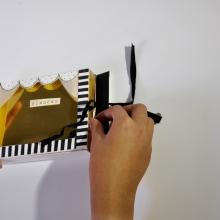 Pinocchio. Un projet de Illustration, Papercraft et Illustration jeunesse de Karishma Chugani - 15.10.2020