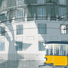 Milanese Night. A Illustration, Architectural illustration & Ink Illustration project by Carlo Stanga - 10.16.2020