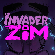 Invader Zim . Un proyecto de Ilustración, Diseño de personajes y Dibujo digital de Matias Vibanco - 16.10.2020