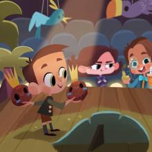 Ilustraciones editoriales. Un proyecto de Diseño de personajes, Ilustración digital, Ilustración infantil e Ilustración editorial de Gaby Zermeño - 19.10.2020