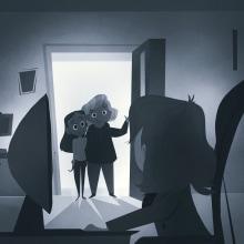 Blanco y Negro. Un proyecto de Ilustración digital y Concept Art de Gaby Zermeño - 19.10.2020