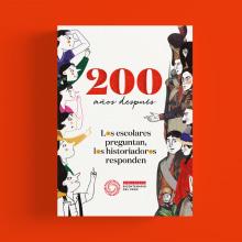 """Libro Ilustrado """"200 años después. L@s escolares preguntan, l@s historiador@s responden"""". Un proyecto de Ilustración, Diseño editorial, Diseño gráfico e Ilustración editorial de Fátima Ordinola - 02.09.2020"""