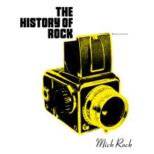 The History of Rock. Un proyecto de Dirección de arte, Diseño editorial y Fotografía digital de Diego Pinilla Amaya - 21.10.2020