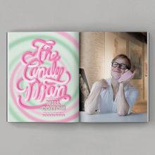 The Candy Man. Un proyecto de Dirección de arte, Diseño editorial, Lettering, Lettering digital, Lettering 3D y Diseño tipográfico de Diego Pinilla Amaya - 22.10.2020