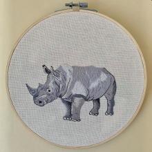 Meu projeto do curso: Pintar com linha: técnicas de ilustração têxtil. A Stickerei und Textile Illustration project by Beatrix Reche - 22.10.2020