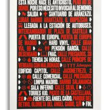 El día de la Bestia, de Jabi Medina. A T, pografisches Design und Siebdruck project by Amazink - 23.10.2020
