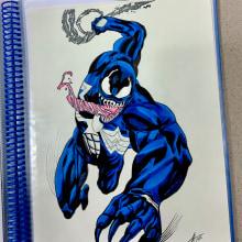 Venom. Un progetto di Disegno a matita , e Disegno anatomico di Eric Morcillo Roma - 24.10.2020