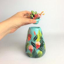 Mi Proyecto del curso: Técnicas de ilustración y modelado en cerámica. Um projeto de Ilustração, Design de produtos e Cerâmica de Pepa Espinoza - 24.10.2020