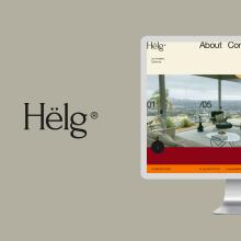 Helg. A UI / UX, Webdesign und Digitales Design project by Adrián Somoza - 26.10.2020