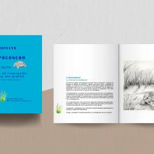 O Sapoconcho. La joya de los humedales.Mi Proyecto del curso: Técnicas de ilustración artística con grafito. A Illustration project by Loli Crespo - 10.27.2020