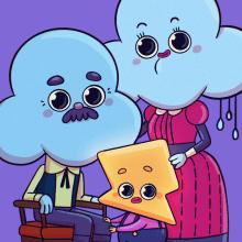 Retratos de familia. Um projeto de Ilustração e Ilustração infantil de Marta García Pérez - 29.10.2020