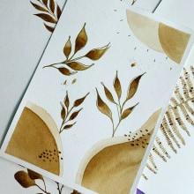 Mi Proyecto del curso: Ilustración botánica con acuarela. Um projeto de Artes plásticas de Valeria Rázuri - 29.10.2020