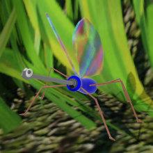 Bicho Destornillador. Um projeto de 3D, Modelagem 3D e Design de personagens 3D de Matías Bavastro - 30.10.2020