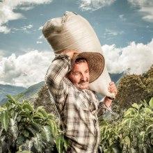Cafeteros, Juan Valdez. A Fotografie, Porträtfotografie und Dokumentarfotografie project by Alejandro Osses Saenz - 01.05.2019
