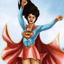 Mi Proyecto del curso: Ilustración para cómics: anatomía de un superhéroe. A Comic, Concept Art und Anatomische Zeichnung project by EXWIN RUPERTO SALAS CÓRDOVA - 02.11.2020