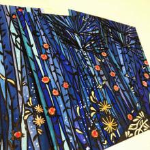Print-Design. A Design, Illustration, Fashion, Lettering, Textile illustration, Brush painting, Brush pen calligraph, H, Lettering & Ink Illustration project by RIE TAKEDA - 11.02.2020