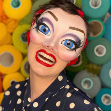 Hormel Girls Masks. A Costume Design, Crafts, Fashion, and Portrait illustration project by Camille Labarre - 01.03.2020