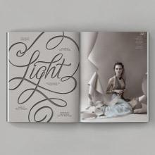 Light. Un proyecto de Dirección de arte, Diseño editorial, Moda, Tipografía, Lettering y Diseño de moda de Diego Pinilla Amaya - 04.11.2020