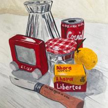 Mi Proyecto del curso: Bodegón contemporáneo con acuarela. Un proyecto de Pintura a la acuarela de Elisa Alcalde Castro - 05.11.2020