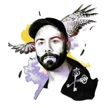 Mi Proyecto del curso: Retrato ilustrado con Photoshop. Un progetto di Belle arti, Illustrazione digitale, Illustrazione di ritratto , e Disegno di ritratto di Beatriz Gutierrez Sierra - 07.11.2020