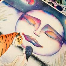 Mi Proyecto del curso: Animalario botánico: acuarela, tinta y grafito. Un proyecto de Ilustración de Iana perez nollet - 08.11.2020