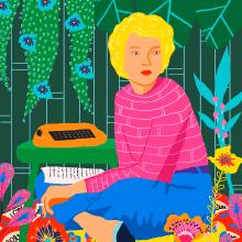 En su jardín secreto. Um projeto de Ilustração de Gisele Murias - 08.11.2020