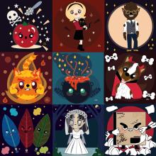Mi Proyecto del curso: Creación de un porfolio de ilustración en Instagram. Un proyecto de Ilustración, Ilustración vectorial e Ilustración digital de Lucy Jordan - 09.11.2020