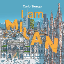 I am Milan. A Illustration, Digital illustration, Architectural illustration & Ink Illustration project by Carlo Stanga - 11.10.2020