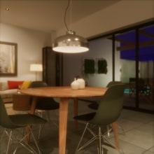 Mi Proyecto del curso: Visualización arquitectónica con V-Ray Next para SketchUp. Un proyecto de Arquitectura digital de Eduardo Bastos Simoes-Lopes - 11.11.2020