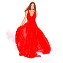 Mi Proyecto del curso: Ilustración de moda: de la pasarela al papel. Un projet de Illustration de Ángeles González Martín - 07.11.2020