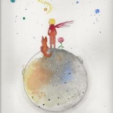 Mi Proyecto del curso: Técnicas aplicadas de ilustración en acuarela. Un projet de Aquarelle de Ángeles González Martín - 11.11.2020