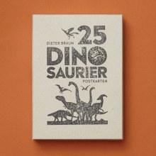 25 dinosaur card box set. Um projeto de Ilustração e Ilustração infantil de Dieter Braun - 11.11.2020