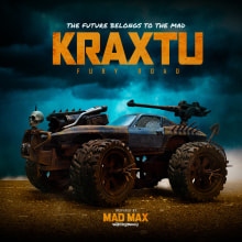 Kraxtu Fury Road. A Design, Creativit, Studio Photograph, Art To, and s project by Adriel Hernández Sánchez - 10.30.2020