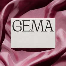 GEMA - Proyecto del curso: Creación de mockups para diseño gráfico. A Br, ing und Identität, Grafikdesign, Postproduktion, Portfolioverwaltung, Fotografische Komposition und Fotomontage project by Asís - 16.11.2020