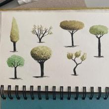 "Meu projeto do curso: ""Desenho para principiantes nível -1"". Un proyecto de Ilustración y Dibujo de Giovanna Benassi - 17.11.2020"