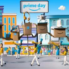 Amazon. A 3-D, Animation, Kartonmodellbau, Animation von Figuren, 2-D-Animation und 3-D-Animation project by Camille Labarre - 18.05.2019
